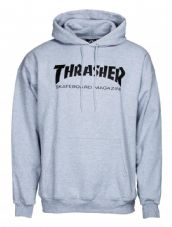Thrasher Hoody Skate Mag - Heather Grey - RRP £69.99 - Alleyoops Price £64.99